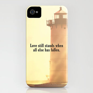 Love Still Stands iPhone Case by Rachel Burbee | Society6