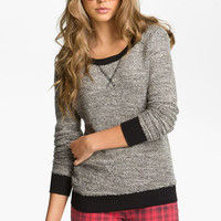 Fire Marled Sweater (Juniors) | Nordstrom
