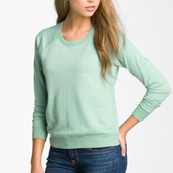 Rubbish® Heathered Sweatshirt (Juniors) | Nordstrom