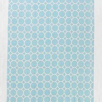 Plum & Bow Circle-Dot Rug- Blue