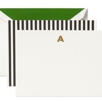 kate spade | monogram note card a