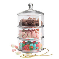 One Kings Lane - Kitchen &amp; More - 3-Tiered Canister, Small