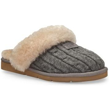 UGG® Australia Women's Cozy Knit Slipper at Von Maur