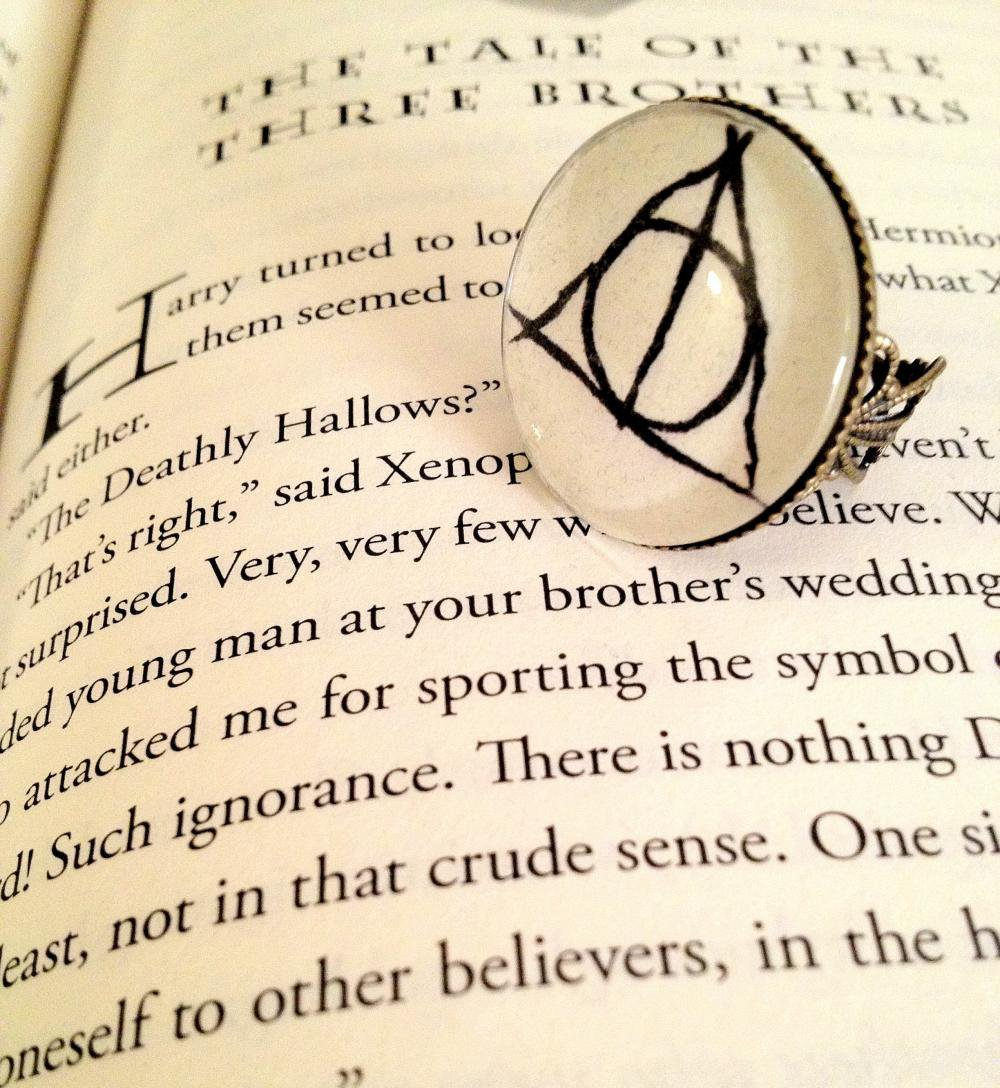 Deathly Hallows Antiqued Bronze Boo.. on Luulla