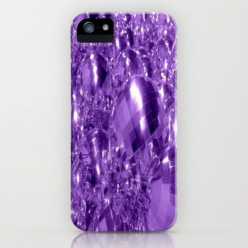 Purple Ornaments iPhone & iPod Case by 2sweet4words Designs