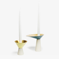 Asymmetrical Candle Holder