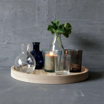 7-Pc Hodgepodge Vases and Tray Set