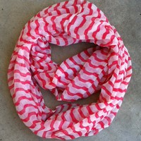 Candy Stripe Infinity Scarf [1143] - $14.00 : Vintage Inspired Clothing &amp; Affordable Summer Dresses, deloom | Modern. Vintage. Crafted.