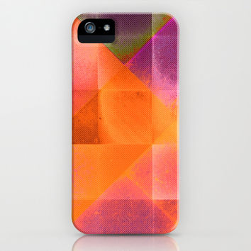 CHECKED DESIGN II-v8 iPhone & iPod Case by Pia Schneider [atelier COLOUR-VISION]