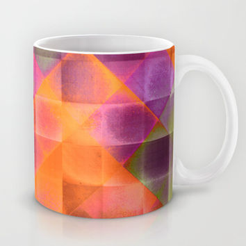 CHECKED DESIGN II-v8 Mug by Pia Schneider [atelier COLOUR-VISION]
