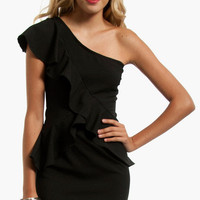 Crossing Ruffles Dress $37