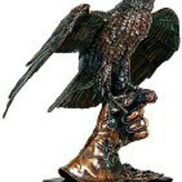 Bird Statue | Falcon on Hand Statue