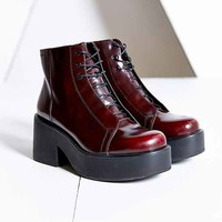Vagabond Emma Lace-Up Boot- Maroon
