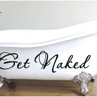 Get Naked Vinyl Decal on Luulla