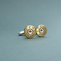 44 caliber Remington bullet cuff links gift for him groomsmen gift