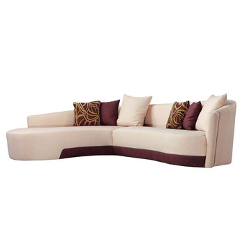 Armen Living Modern Left-Facing Sectional