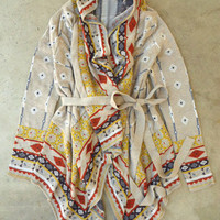 Willow Harvest Wrap Cardigan [3268] - $74.00 : Vintage Inspired Clothing & Affordable Summer Dresses, deloom | Modern. Vintage. Crafted.