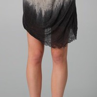 Raquel Allegra Short Gathered Skirt