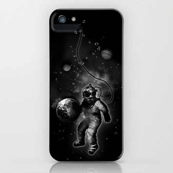 Deep Sea Space Diver iPhone & iPod Case by Nicklas Gustafsson