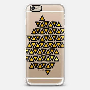 Aztec Gold Empire iPhone 6 case by Pom Graphic Design | Casetify