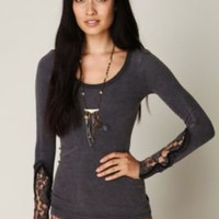 Free People Crafty Cuff Thermal at Free People Clothing Boutique