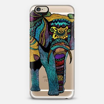 Elephant Of Namibia Transparent iPhone 6 case by Pom Graphic Design | Casetify