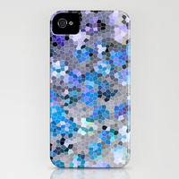 blue and grey iPhone Case by Sylvia Cook Photography | Society6