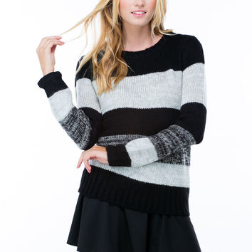 Striped Knitty Gritty Sweater
