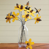 SUNFLOWER BOUQUET, SET OF 12 - Decorative Accents - Accessories - For the Home | Robert Redford's Sundance Catalog