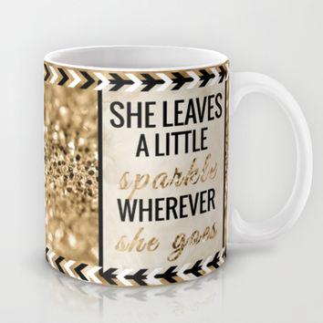 She Leaves a Little Sparkle Wherever She Goes Mug by Tangerine-Tane