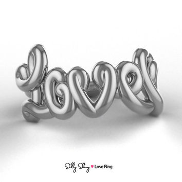 Love Ring  14K Gold