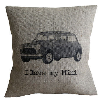 'I Love My Mini' Cushion