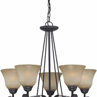 Ember 5-light Traditional Chandelier by Lite Source LS-19885 19885