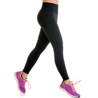 Women's Lupo Emana Reflective Seamless Compression Running Pants