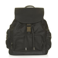 Perforated Backpack - Black