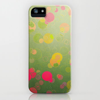 Funny Bubbles iPhone & iPod Case by SensualPatterns