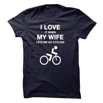 LOVE MY WIFE AND CYCLING