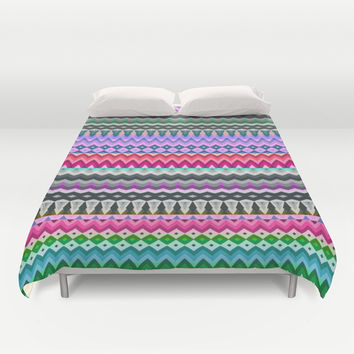 Mix #130 Duvet Cover by Ornaart