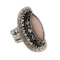 Eteched Stretchy Ring