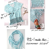 Craft Ideas / Scarf