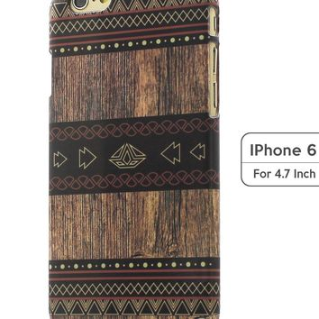 Sky2light,classical Iphone 6 Case,4.7 Inch Iphone 6 Cover,personalized Iphone 6,wood Geometrical Image Iphonie 6 Case