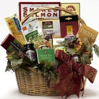 Art of Appreciation Gift Baskets -Heart Healthy Gourmet Food Gift Basket