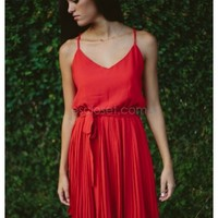 Aurora- Be the girl on fire in this red-hot dress! The Aurora is a p