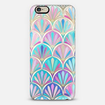 Glamourous Twenties Art Deco Pastel Pattern iPhone 6 case by Micklyn Le Feuvre | Casetify