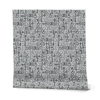 Sharon Turner Math Doodle Wrapping Paper - 2' x 10' Roll