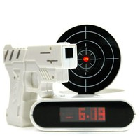 INFMETRY:: Gun O&#x27;Clock shooting alarm clock