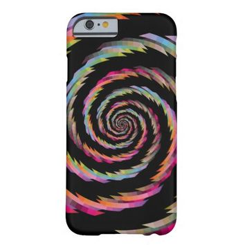 Spiral - Black iPhone 6 Case