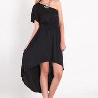 Young Hollywood Asymmetrical Dress - $38.00 : ThreadSence.com, Your Spot For Indie Clothing  Indie Urban Culture