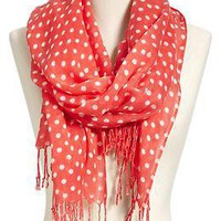 Women's Printed Polka-Dot Scarves | Old Navy