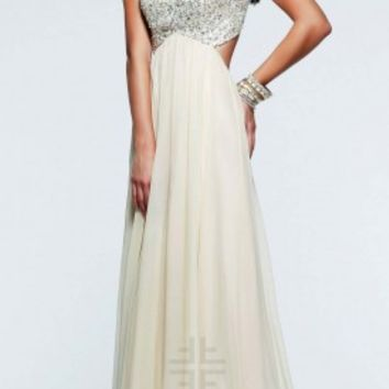 Romantic sequin prom dresses by Faviana